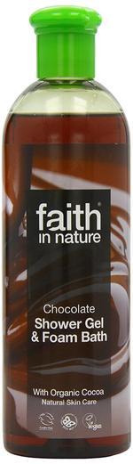 Faith in Nature Chocolate Shower Gel - 250 ml