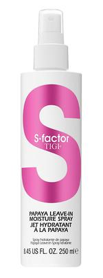 Tigi S-Factor Papaya Leave-In Moisture Spray - 250 ml