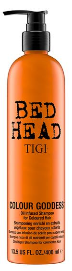 Tigi Bed Head colour Goddess Oil Infused Shampoo For Coloured Hair - 400 ml