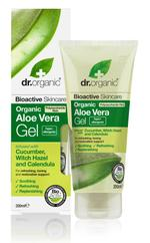 Dr Organic Aloe Vera Gel With Cucumber,Witch Hazel - 200 ml