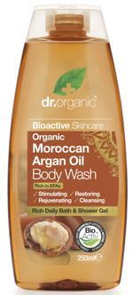 Dr Organic Argan Oil Body Wash - 250 ml