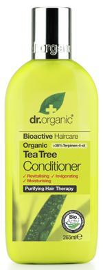 Dr Organic Tea Tree Conditioner - 265 ml
