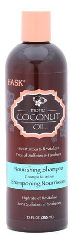 Hask Monoi Coconut Oil Nourishing Shampoo - 355 ml