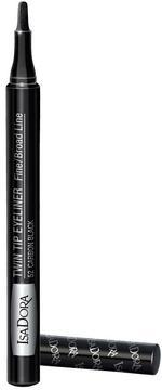 Isadora 1128 Twin Tip Eyeliner-52 Carbon Black