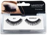 Masters Professional Strip Lashes Sparkle - 201 - 7 x10 cm