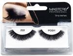 Masters Professional Strip Lashes Posh - 203 - 7 x10 cm