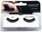 Masters Professional Strip Lashes Hollywood - 211 - 7 x10 cm