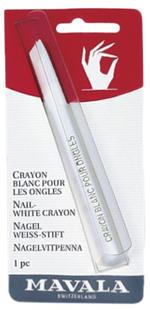 Mavala Nail White Crayon Carded 1Pc