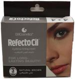 Refectocil Eye Brows Coloring Cream #3 Natural Brown Sachets (1+1ml) -Pack of 4