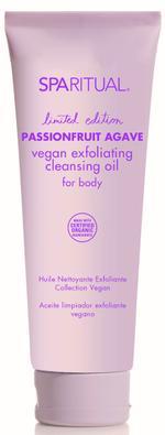 SpaRitual Passionfruit - Vegan Exfoliating Cleansing Oil - 3.4oz