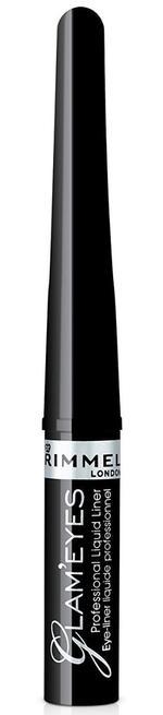 Rimmel London Glameyes Professional Liquid Liner 001 Black Glamour