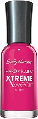 Sally Hansen Hard As Nails Xtreme Wear - Fuchsia Power, A Bluish Bright Pink Nail Polish