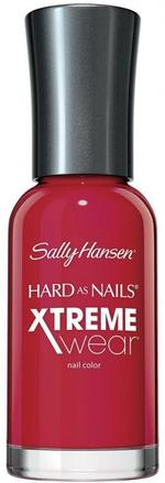 Sally Hansen Hard As Nails Xtreme Wear - Pucker Up, A Fire-Engine Red Nail Polish