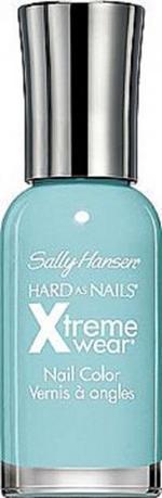 Sally Hansen Hard As Nails Xtreme Wear - Big Teal, A Pastel Blue-Green Nail Polish