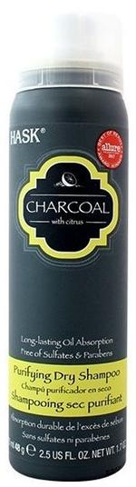 Hask Charcoal Purifying Dry Shampoo 75 ml