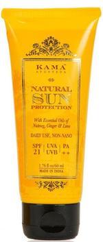 Kama Ayurveda Natural Sun Protection Spf-21 60 ml