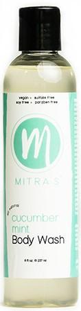 Mitra Cucumber Mint Body Wash 8 Oz