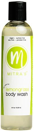 Mitra Lemongrass Body Wash 8 Oz