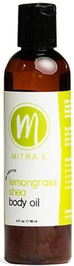 Mitra Lemongrass Body Oil 4 Oz