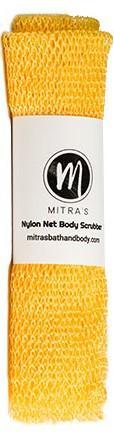 Mitra Net Body Scrubber - Orange