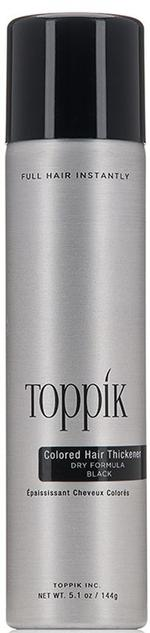 Toppik Colored Hair Thickener Black 5.1 Oz