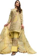 Saadia Mirza Mosáique Floral Unstitched Dress Material