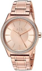 Armani Exchange  Rose-Gold Stainless Steel Analog Watch -AX5442