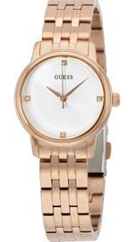 Guess Wafer Rose Gold  Steel Bracelet Watch -W0687L3