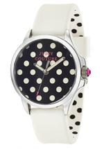 Juicy Couture Jetsetter White Silicone Strap Analog Watch  - 1901221