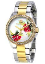 Juicy Couture Laguna Two Tone Silver Gold Analog Watch -1901425