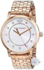 Juicy Couture Socialite Rose Gold Tone Analog Watch - 1901476