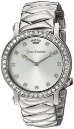 Juicy Couture La Luxe Silver Tone Stainless Steel Analog Watch -1901487