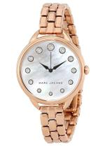Marc Jacobs  Betty Rose Gold Tone Analog Watch -MJ3515