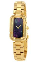 Marc Jacobs  Gold Tone Analog Watch -MJ3536