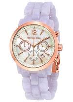 Michael Kors  Audrina Lavender  Acetate Analog Watch -MK6312