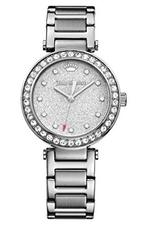 Juicy Couture Victoria Silver Tone Stainless Steel Analog Watch -  1901318