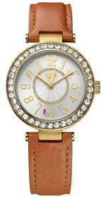 Juicy Couture Cali Tan Leather Strap Analog Watch -  1901397