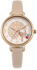 Cath kidston Painted Birds Nude Leather Strap Analog Watch - CKL035CRG
