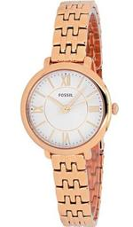 Fossil Jacqueline Rose Gold Tone Analog Watch - ES3799