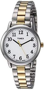Timex  Easy Reader Two Tone Silver Gold Analog Watch - TW2R23900
