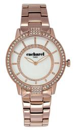 Cacharel Rose Gold Tone Analog Watch - CLD009S/2BM