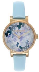 Cacharel Light Blue Leather Strap Analog Watch - CLD028/1ZZ