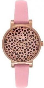 Cacharel Pink Leather Strap Analog Watch - CLD028/2TT