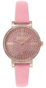 Cacharel Montre Femme Rose Pink Strap Analog Watch - CLD033S/2TT