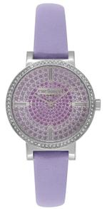 Cacharel Montre Femme Lavender Strap Analog Watch - CLD033S/PP