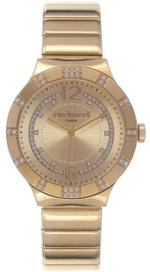 Cacharel Gold Tone Analog Watch -CLD039S/1EM