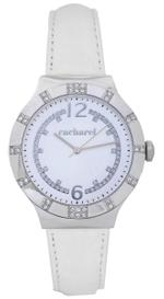 Cacharel White Leather Strap Analog Watch - CLD039S/BB