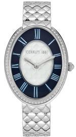 Cerruti 1881 Parrera Silver Tone Stainless Steel Analog Watch - C CRWM23002