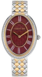 Cerruti 1881 Parrera Two Tone Silver Gold Stainless Steel Analog Watch - C CRWM23004