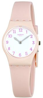 Swatch Pinkbelle Pink Silicone Strap Analog Watch - LP150